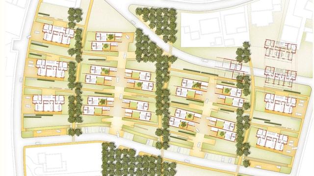 Progetto Urbanistico della Nuova Area PEEP a Masiano