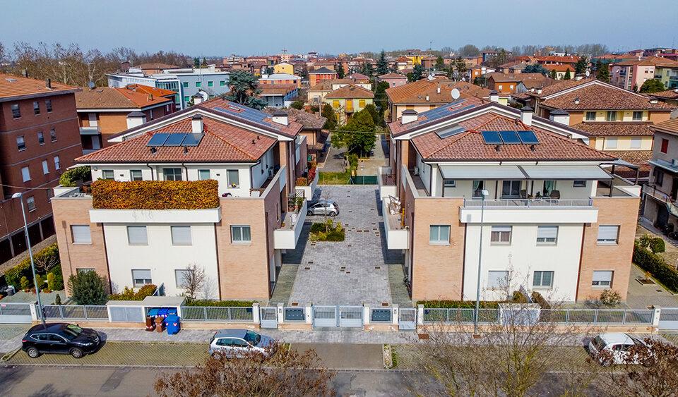 Realizzazione di due edifici residenziali per 8+8 alloggi